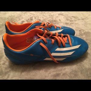 Adidas Men's Size 5 Soccer Cleats Blue/Orange